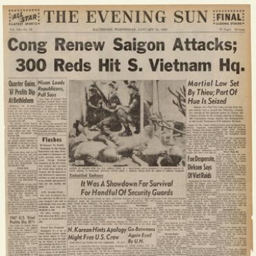 Viet Cong Attack U.S. Embassy in Saigon, 1968
