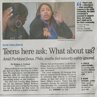 Black Teens Ambivalent About Walkouts, 2018 (1 of 2) Teaser