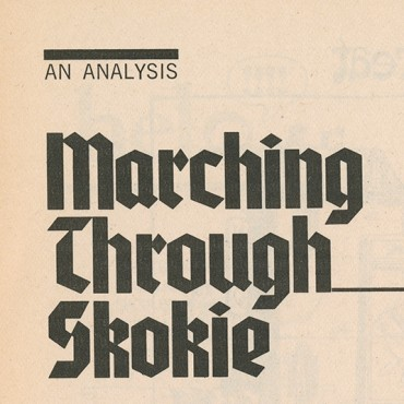 Academic Argues Against Nazi March, 1978 (2 of 3)
