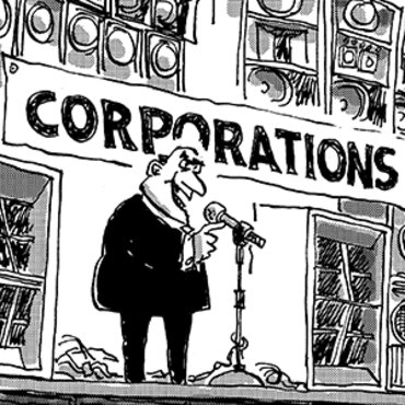 Cartoon Pokes Fun at Citizens United Ruling, 2010 teaser