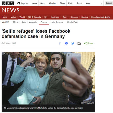 Refugee Loses Facebook Defamation Case, 2017 teaser