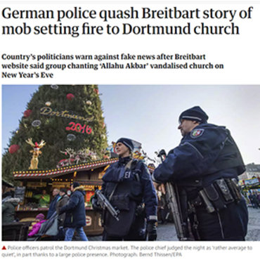 Germans Criticize Breitbart for False Story, 2017 teaser