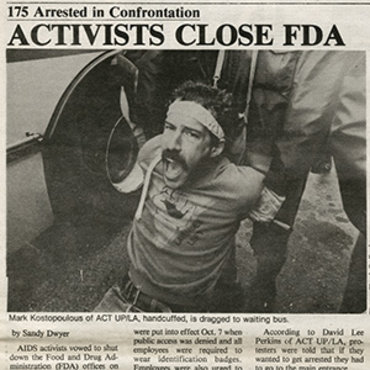 AIDS Activists Protest at FDA, 1988 (1 of 2) teaser