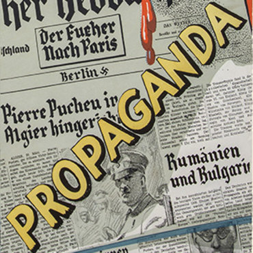 Poster Contrasts U.S. Press and Nazi Press Teaser