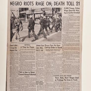 Watts Riots Reveal Race Issues Across the Country