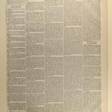 Newspaper Coverage of Bradwell v. Illinois, April 26, 1873