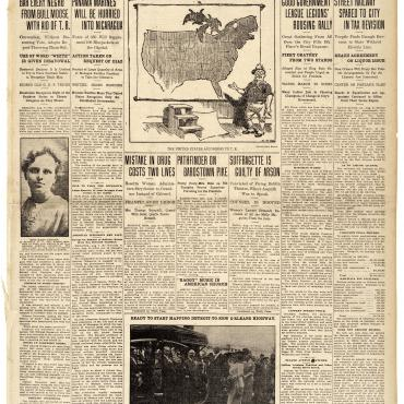 Newspaper Coverage of Progressive (Bull Moose) Party, Aug. 7, 1912