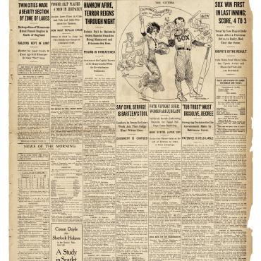 Newspaper Coverage of California Suffrage Victory, Oct. 14, 1911