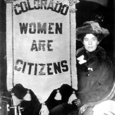 Colorado Suffragist, Circa 1910-1920