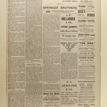 Newspaper Coverage of the Women's Suffrage Campaign in Colorado, 1893