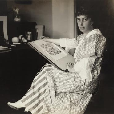 Nina E. Allender, Cartoonist for 'The Suffragist,' 1915