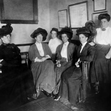Members of Equality League of Self-Supporting Women