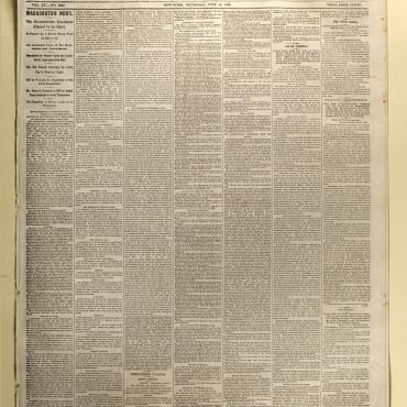 Newspaper Coverage of the Passage of the 14th Amendment, 1866