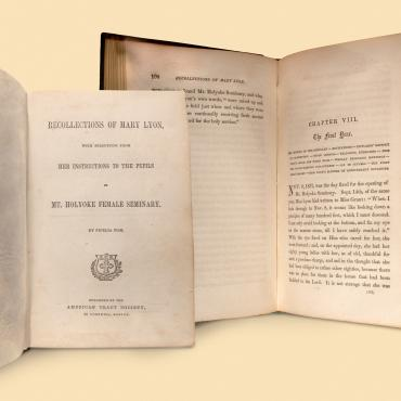 Book 'Recollections of Mary Lyon'