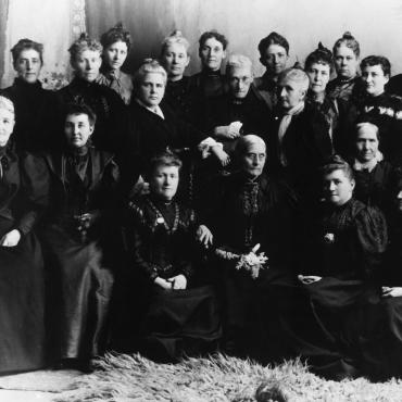 Woman Suffrage Leaders in Utah with Susan B. Anthony