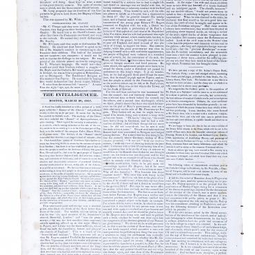 Newspaper Defends Catholicism in 1832 (2 of 2)