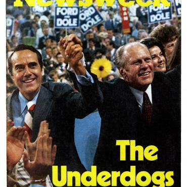 """The Underdogs"" refers to Ford's long shot status in the general election, ""starting farther behind than any president in scientific polling history."""