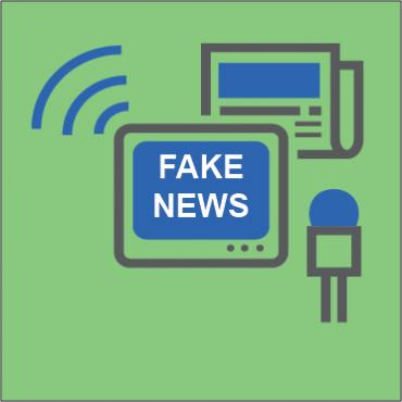 Fake news logo